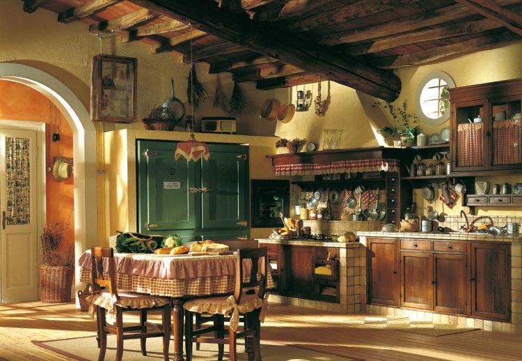 Интерьер кухни в Голландском стиле