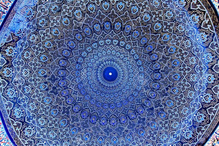 Своды с орнаментами в арабском стиле