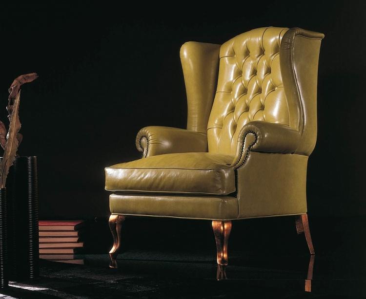 Кресло с ушами - воплощение британского стиля