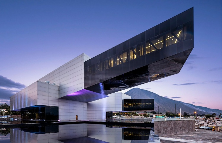 Галерея современной Архитектуры Эквадора построенная последователем Эля Лисицкого