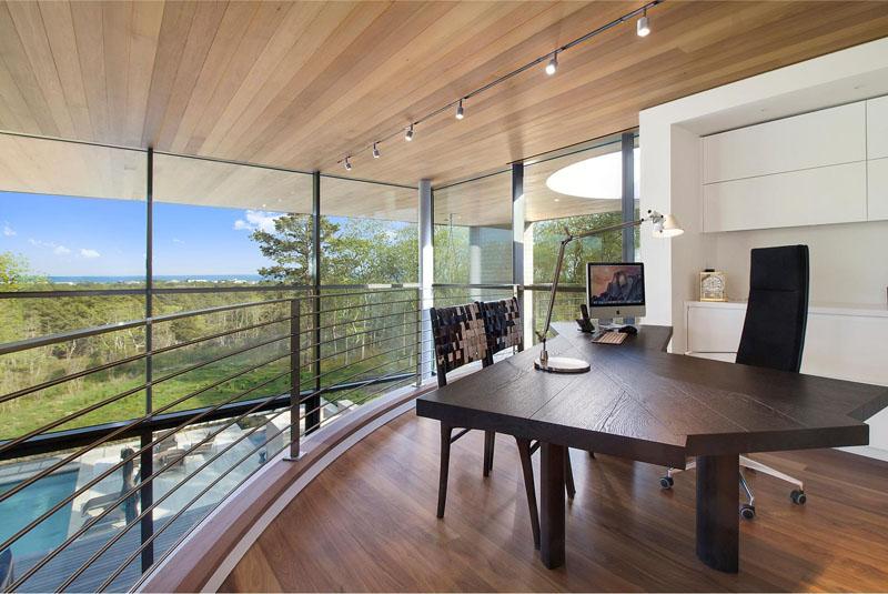 Интерьер современного домашнего офиса