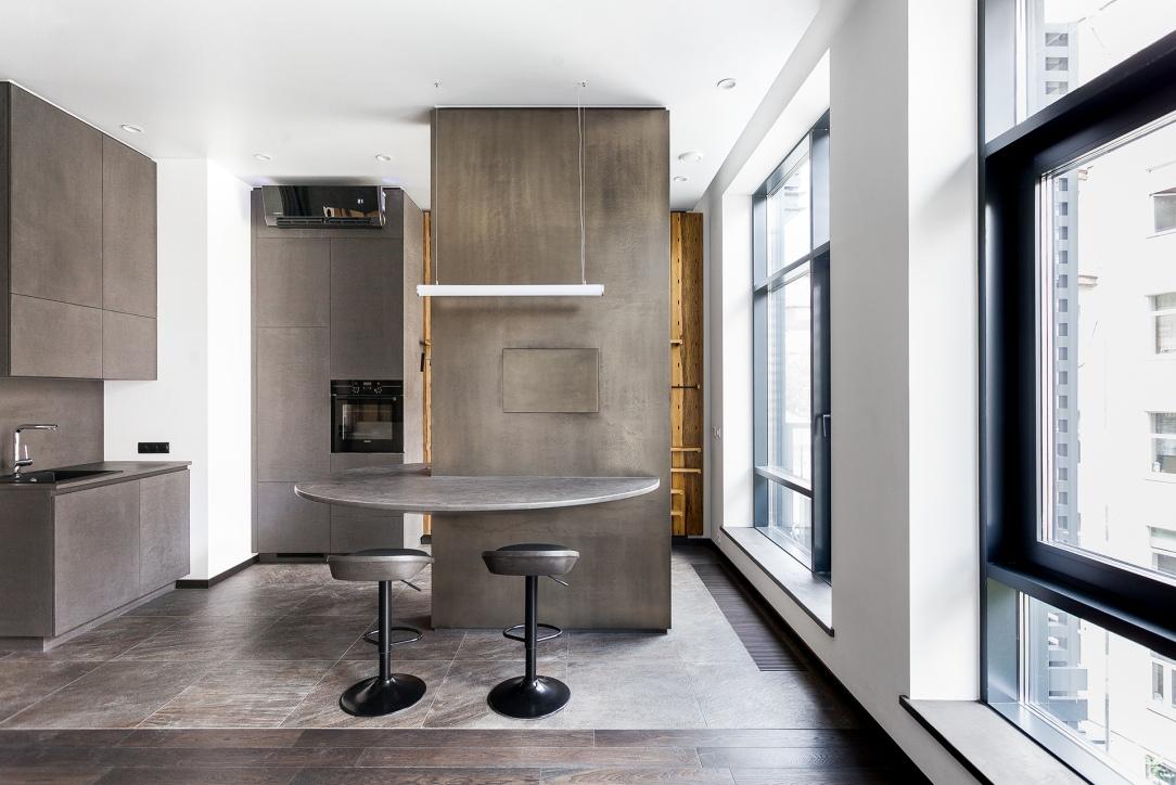 Современный дизайн интерьера апартаментов в ЖК