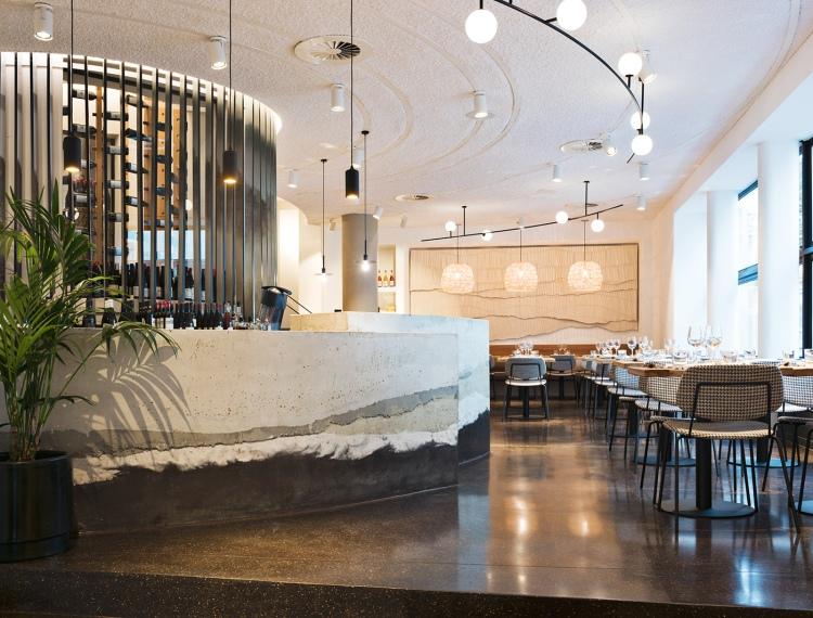 Современный дизайн интерьера ресторана Теро в Брюсселе 5