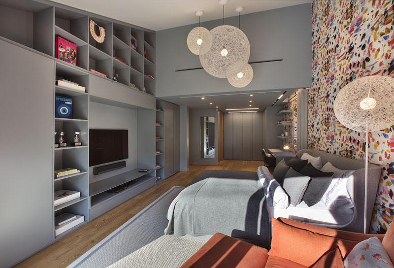 Дизайн интерьера современной спальни дома