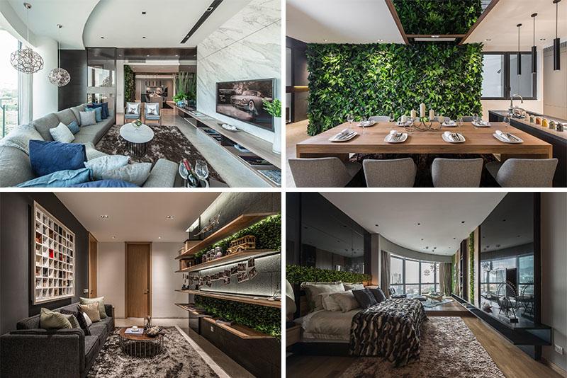 Дизайн интерьера современных апартаментов для фотографа