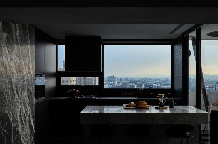 Современный дизайн интерьера апартаментов 6