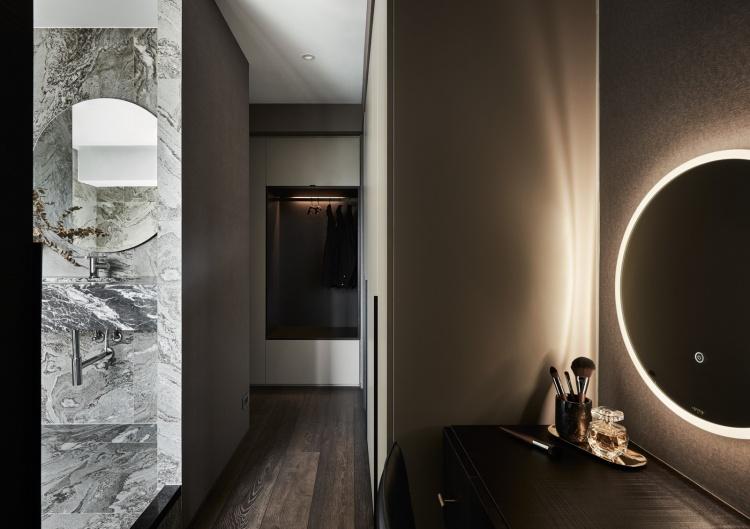 Современный дизайн интерьера апартаментов