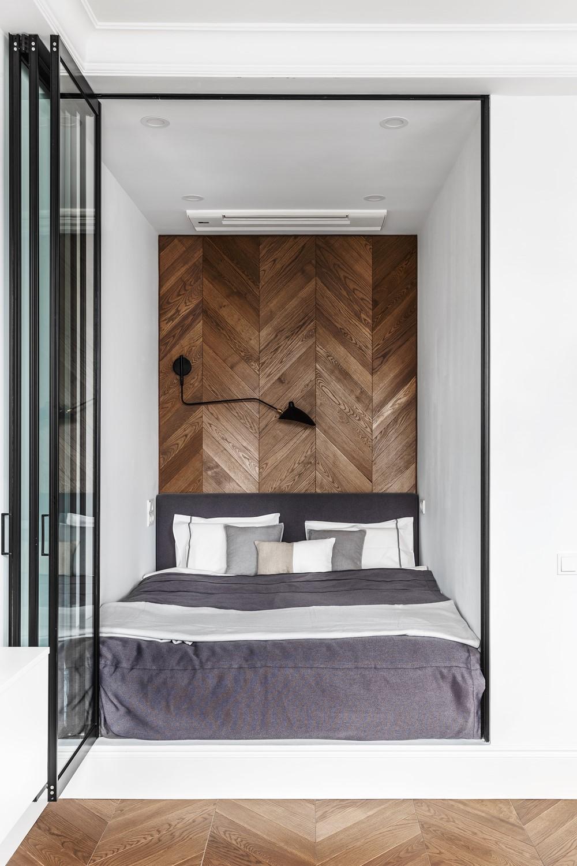 Современный дизайн интерьера апартаментов в Фили Град 17