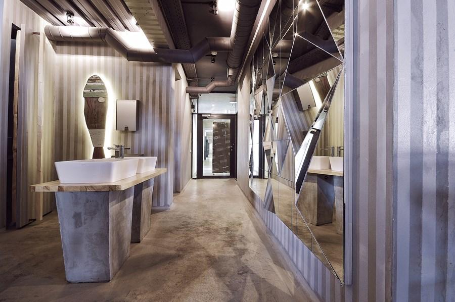 Современный дизайн интерьера ресторана GASTROPORT