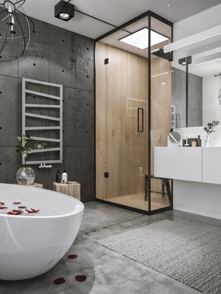 Современный дизайн интерьера мансарды