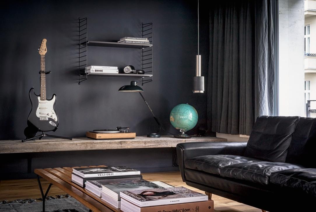 Современный дизайн интерьера квартиры в эклектичном стиле 5