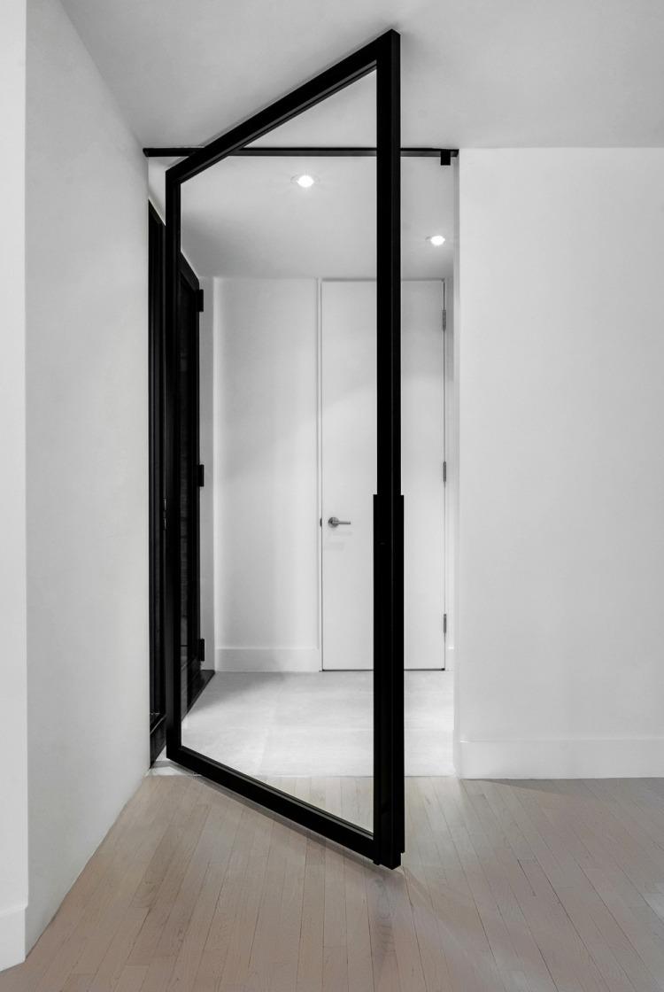 Современный дизайн интерьера холла дома в скандинавском стиле
