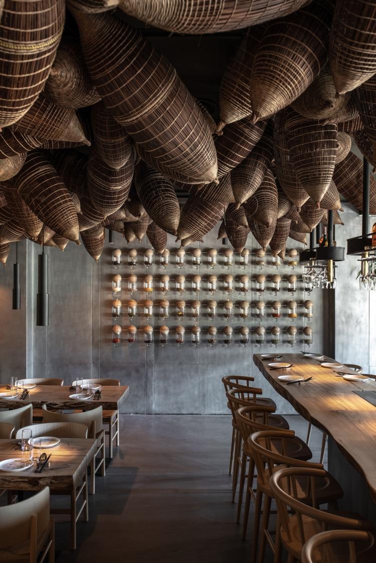 Современный дизайн интерьера ресторана Spicy • NoSpicy 8