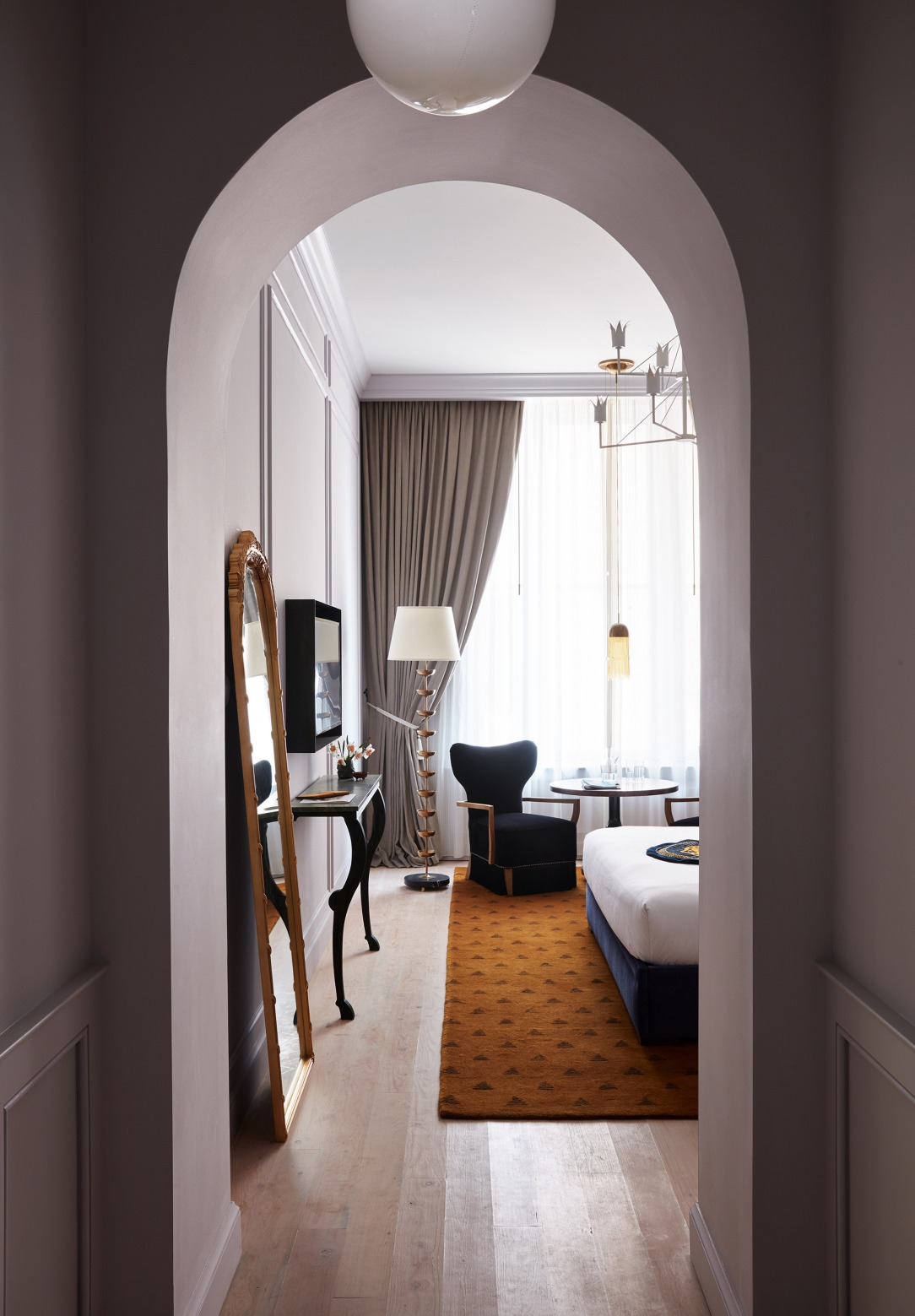 Современный дизайн интерьера отеля Maison de la Luz 6