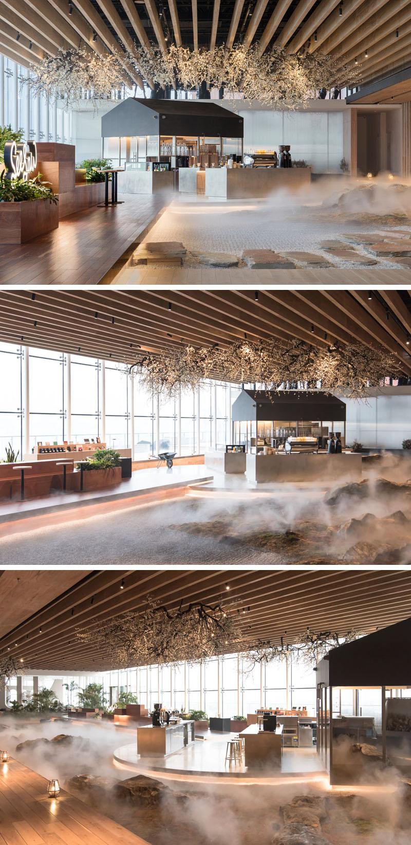 Современный дизайн интерьера кофейни