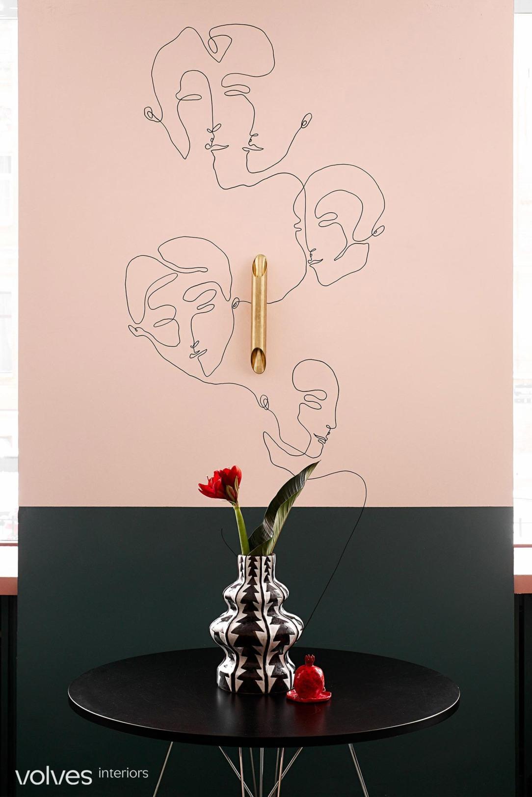 Современный дизайн интерьера кофейни Limitless Cafe