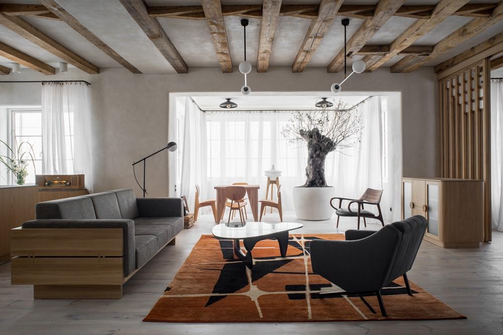 Современный дизайн интерьера дома Pogodno 6 от Loft Kolasiński