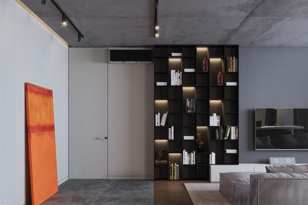 Современный дизайн интерьера холла квартиры Alexandr 3 от Geometrium 3