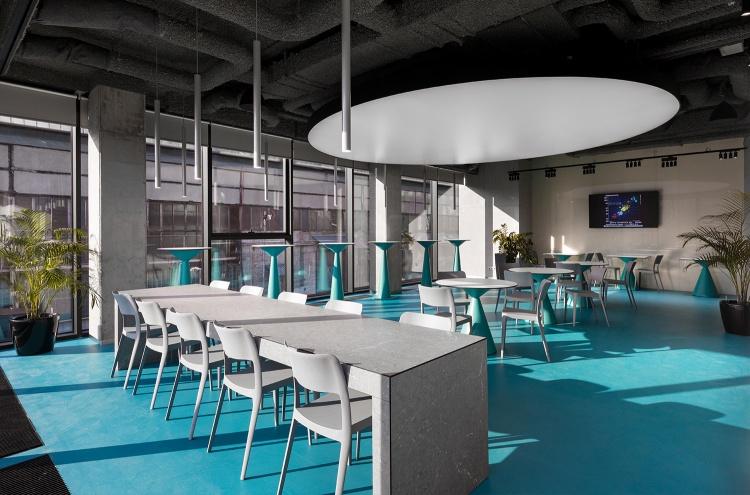 Современный дизайн интерьера академии ACADEMY DTEK 26