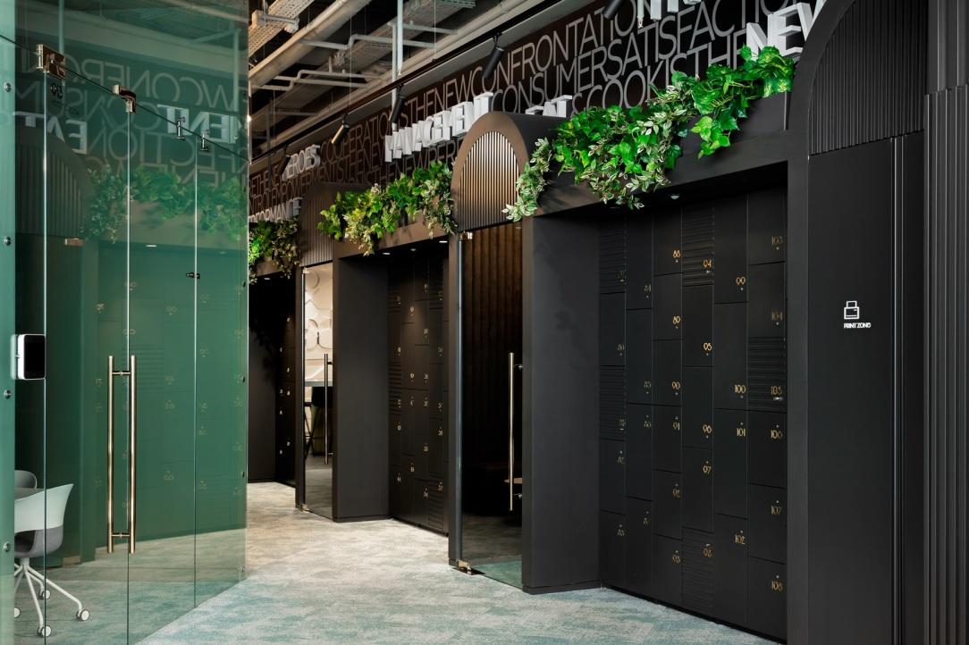 Современный дизайн интерьера московского офиса L'ORÉAL 5