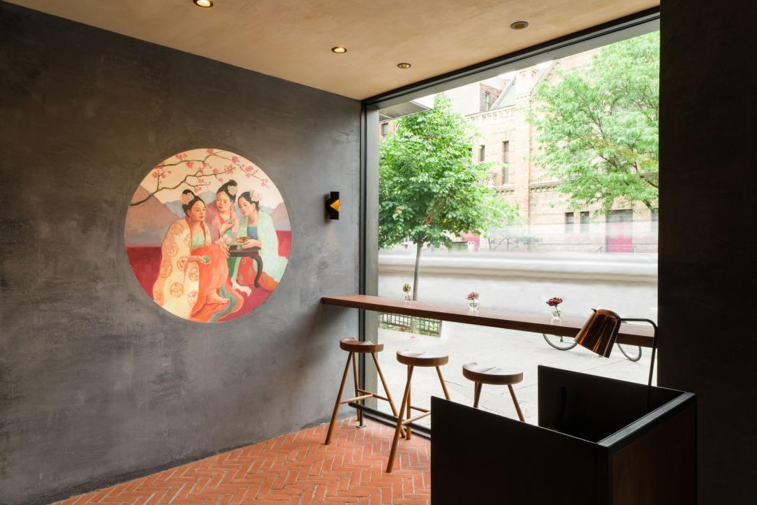 Современный дизайн интерьера ресторана The Tang в Нью-Йорке 4