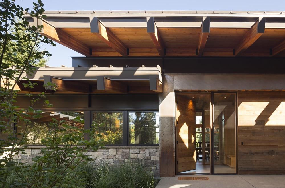 Современный дизайн и архитектура загородного дома 8