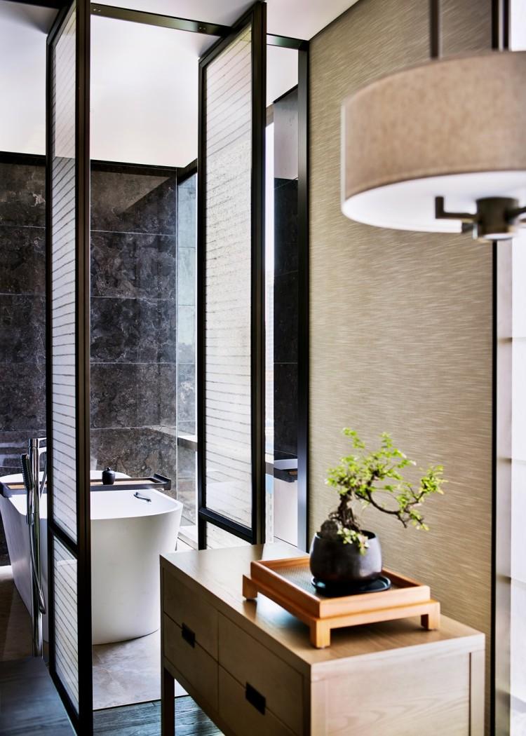 Современный дизайн интерьера отеля HUALUXE
