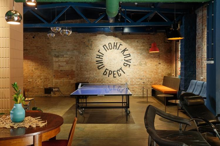 Современный дизайн интерьера кафе-бара в стиле минимализм 8