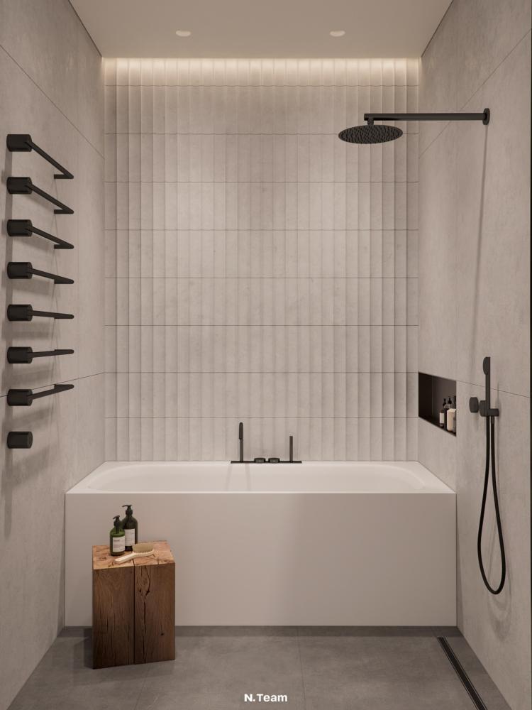 Современный дизайн интерьера квартиры в Москве 13