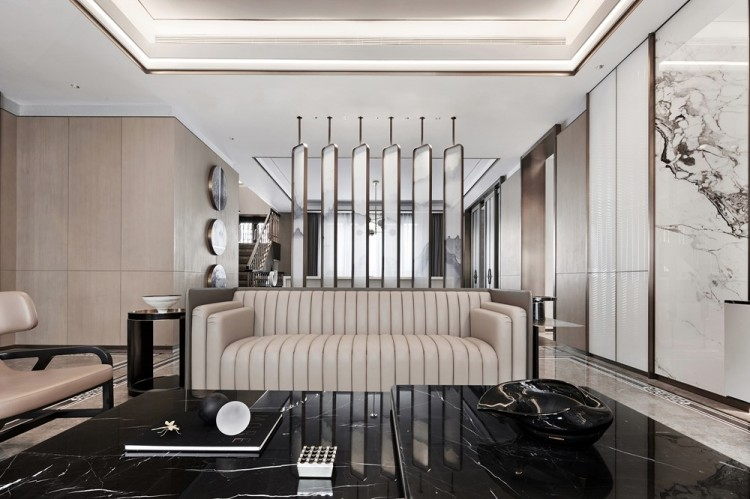 Современный дизайн интерьера Виллы в классическом стиле